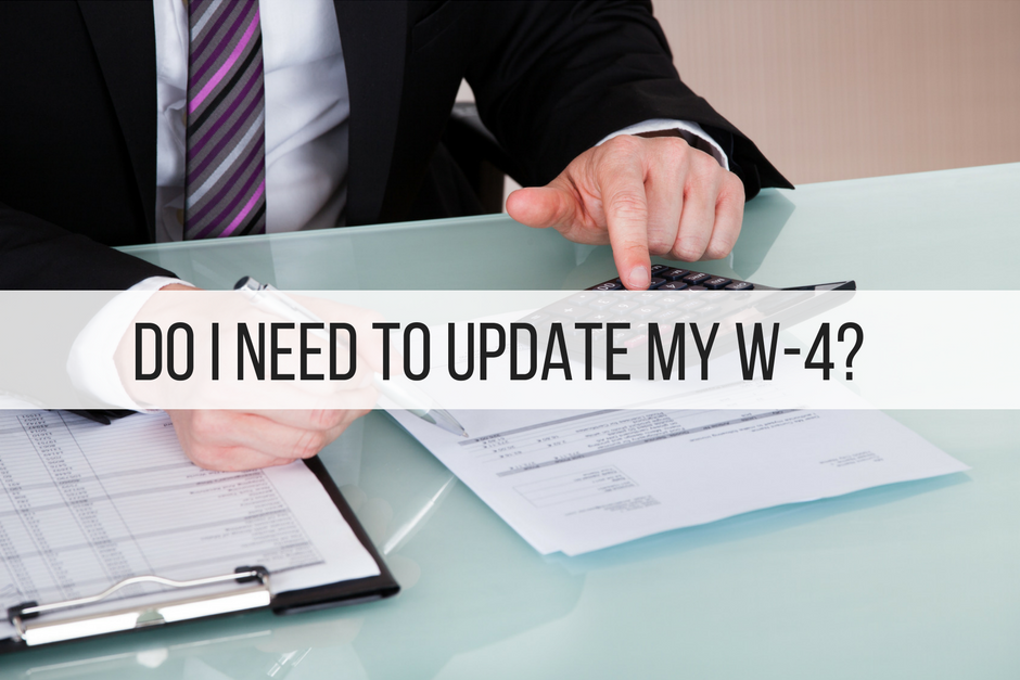 Do I Need to Update My W-4?