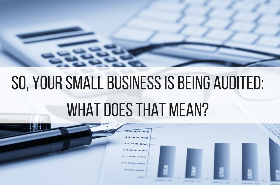So, Your Small Business is Being Audited: What Does That Mean?